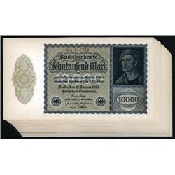 Germany - Weimar Republic - Reichsbanknote, Republic Treasury Notes, 1922 First Issue.