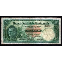Guatemala - Banco CentralDe Guatemala, Ley 7 De Julio De 1926.