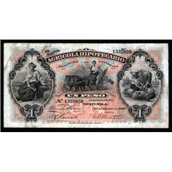 Guatemala - El Banco Agricola Hipotecario, 1895-1926 Issue.
