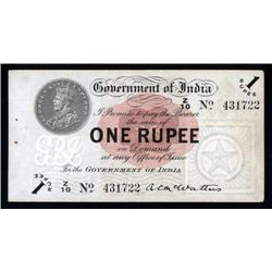 India  - Government of India, 1917-30 Issue.