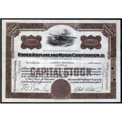 California - Kinner Airplane and Motor Corp., Ltd.