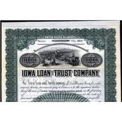 Iowa - Iowa Loan and Trust Company.