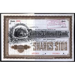 Massachusetts - Traders' National Bank