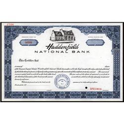 New Jersey - Haddonfield National Bank
