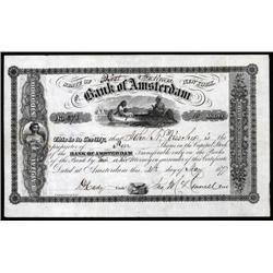 New York - Bank of Amsterdam