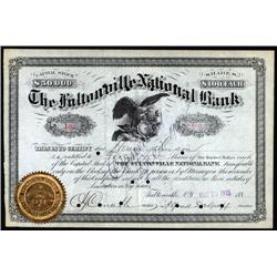 New York - Fultonville National Bank.