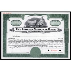 New York - Indiana National Bank of Indianapolis
