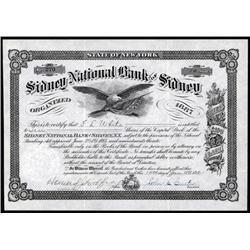 New York - Sidney National Bank Of Sidney