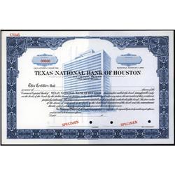 Texas - Texas National Bank of Houston