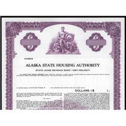 Alaska - Alaska State Housing Authority.