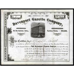 Iowa - Davenport Gazette Co.