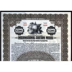 Massachusetts - International Cotton Mills Corporation.