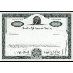 New York - Hamilton Life Insurance