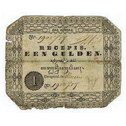 Netherlands Indies - Netherlands Indies, Government (Resumed) 1846 Recepis Issue.