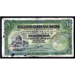 Palestine - Palestine Currency Board, 1929 Issue.