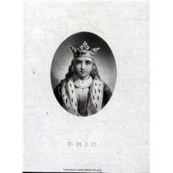 Sweden - Stockholms Enskilda Bank, St. Eric Proof Portrait From Note.