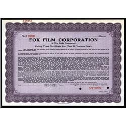 New York - Fox Film Corporation