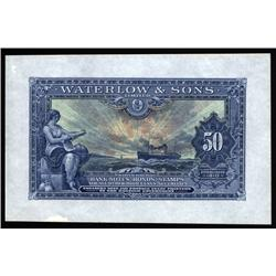 England - Waterlow & Sons Limited Advertising Note.