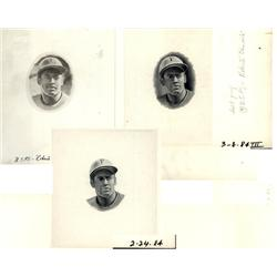 - Roberto Clemente Progress Proof Vignette Trio.