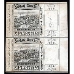 Louisiana - Louisiana, Sugar Cured Hand Made Cigarettes Litho Proof.