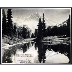 Washington, D.C. - Mt.Rainier National Park, Real Photo With Harold Ickes Signature