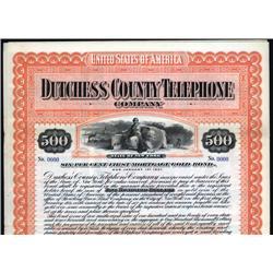 New York - Duchess County Telephone Company.