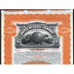 New York - United Message Company (Telegraph).