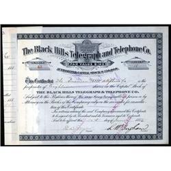South Dakota - Black Hills Telegraph and Telephone Co.