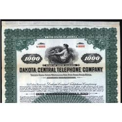 South Dakota - Dakota Central Telephone Co. Bond