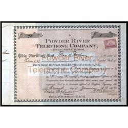 Wyoming - Powder River Telephone Company