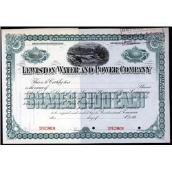 Washington - Lewiston Water and Power Co.