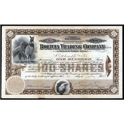 Bolivia - Bolivia Trading Company.