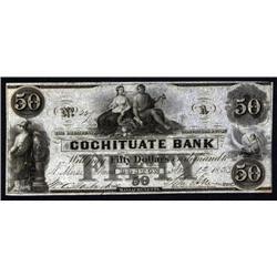 Massachusetts - Cochituate Bank. Boston.