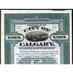 Canada - City of Calgary Bond
