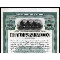 Canada - City of Saskatoon Bond
