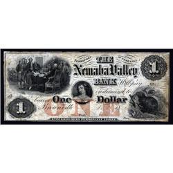 Nebraska  - Nemaha Valley Bank. Brownsville.