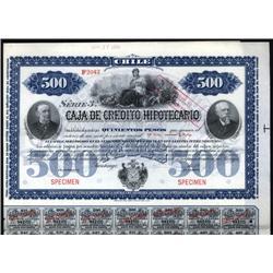 Chile - Caja De Credito Hipotecario Bond