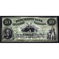 South Carolina - Merchants' Bank of South Carolina,  Cheraw.