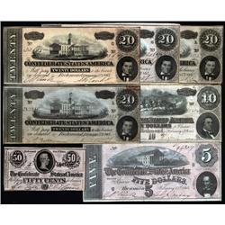 - 1864 CSA Note Selection.