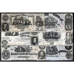 - An Attractive Selection of 1861 CSA Notes