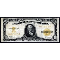 - $10, 1922 Gold Certificate, Fr.1173 Banknote.