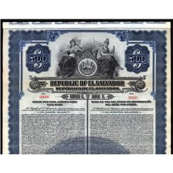 El Salvador - Republic of El Salvador Bond.