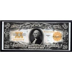 - Fr.1187. Gold Certificate, $20. 1922.