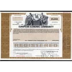 EU - European Economic Community Bond