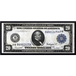 - Fr.971a. Federal Reserve Note, $20. 1914.