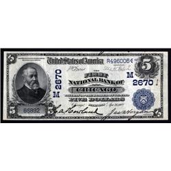 Illinois - Chicago, Illinois - $5 1902 Date Back Ch.#2670.