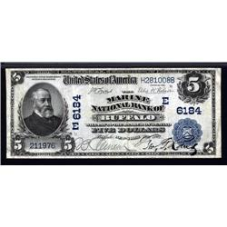 New York - Buffalo, New York, $5 1902 Date Back, Ch.# 6184.