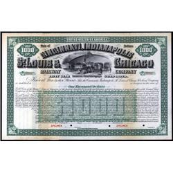 Indiana - Cincinnati, Indianapolis, St. Louis & Chicago Railway Company.