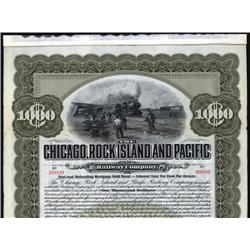 Iowa - Chicago, Rock Island, & Pacific Railroad Company.