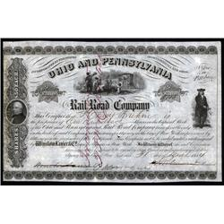 Ohio, Pennsylvania - Ohio and Pennsylvania Railroad Company